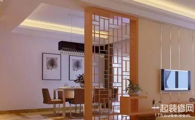 客厅隔断门选择技巧  客厅隔断门设计原则